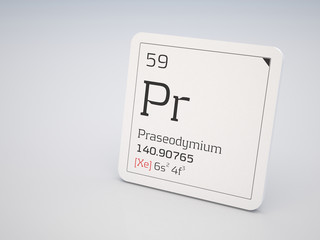 Praseodymium - element of the periodic table