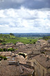 Saint-Emilion, France, village, vignoble, vignes, toits