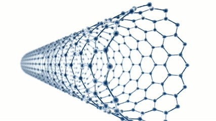 Carbon Nanotube on White