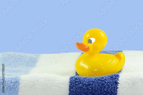 Handtuch mit Ente