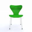 Der grüne Designer Stuhl