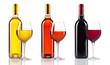 vin bouteille verre