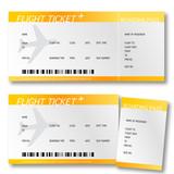 Fototapety Billet d'avion - boarding pass