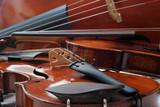 violons et violoncelle