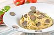 Spaghetti mit frischer Burgundertrüffel