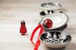 Weihnachtliches Stillleben mit Porzellanschalen