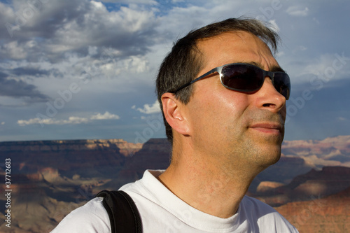 rando dans le grand Canyon