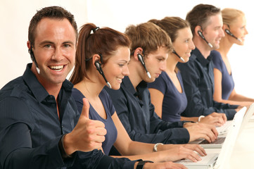 Call-Center Mitarbeiter