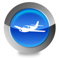 Airplain button