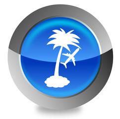 Palm beach button