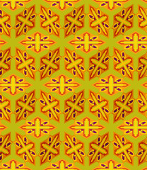 Seamless Background tile with 3d geometric pattern