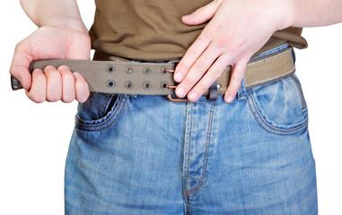 belt tighten