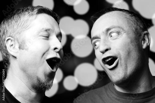 Leinwanddruck Bild Duo
