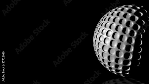 HD - Golf ball. background