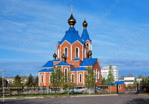 Orthodox Cathedral in Komsomolsk-on-Amur, Russia