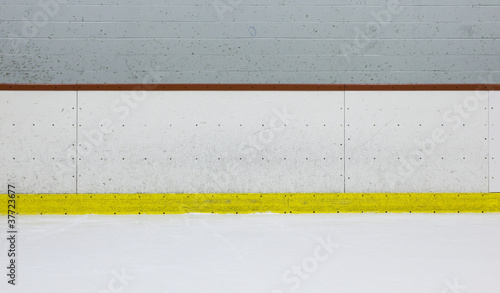 Fototapeta Hockey Rink Boards