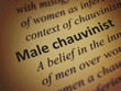 Definition: Male chauvinist