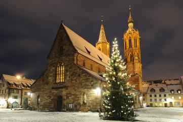 Villinger Münster an Weihnachten