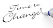 Stift Konzept - Time to Change
