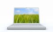Laptop Natur Konzept