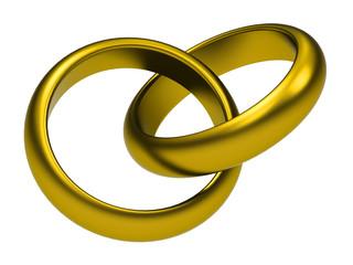 Die goldenen Eheringe