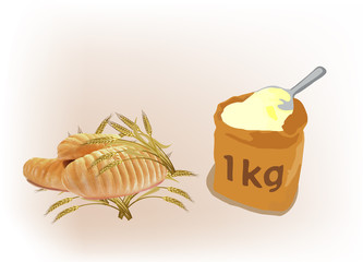 pane farina  di grano