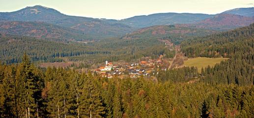 Ludwigsthal am großen Arber im Bayerischen Wald