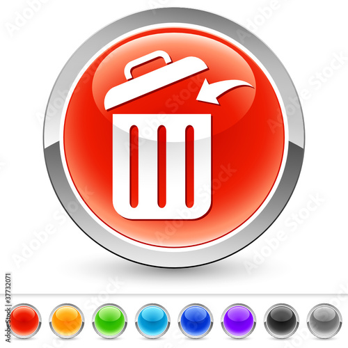 Müll wegwerfen