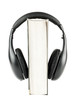 One book with headphones