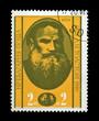 BULGARIA - CIRCA 1978: russian writer Leo Tolstoy.