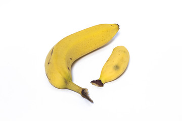 Grande banane  et petite banane