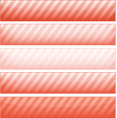 Tangerine Tango Web Banners set