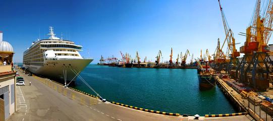 The Odessa seaport