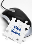 Web Scam poster
