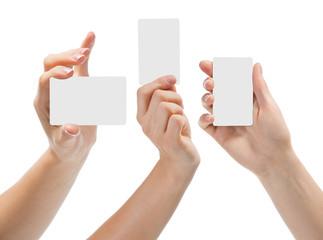 Hand gestures set, în white background