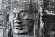 Angkor Bayon stone faces