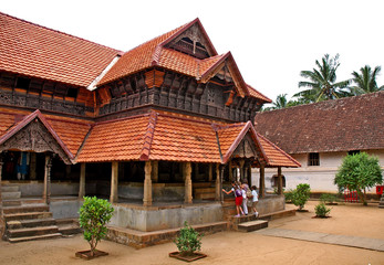 Trivandrum, Padmanabha Palace - India