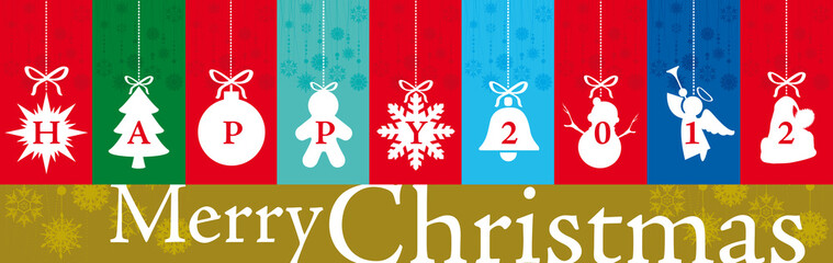 banner Christmas and New Year Greetings 2012