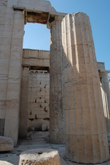 Ancient acropolis of Athens