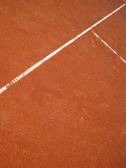Tennisplatz T-Linie 20