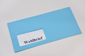 Wahlbrief Briefwahlen