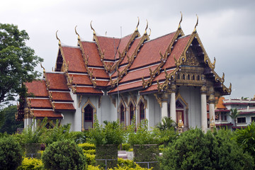 Thai monastery in Bodhgaya, India.