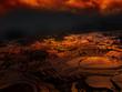 Sonnenuntergang Reisterrassen Yuanyang