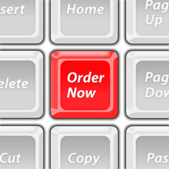 order now keyboard button