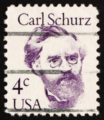 Postage stamp USA 1982 Carl Schurz