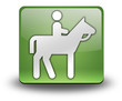 "Green 3D Effect Icon ""Horse Trail"""