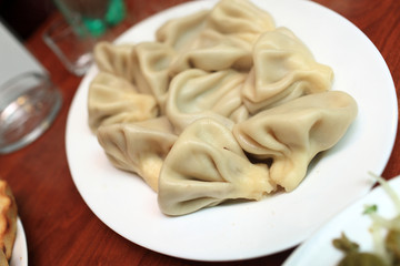 Plate of Khinkali