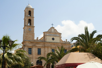 Greek Orthodox Cathedral Chania Crete