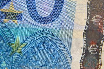 20 Euro-Schein / Detail