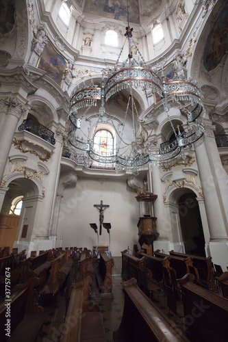 Interior of Church of St. Nicholas